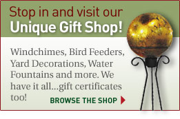 Stop in and visit our unique Gift Shop!